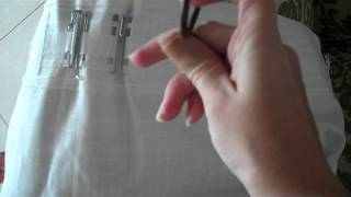 5 Different Styles for Hanging Curtains {Ikea Ritva Drapes}