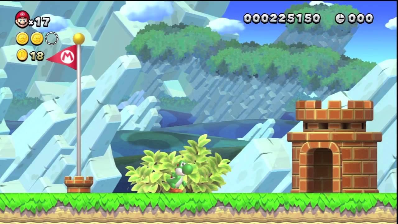 We Play New Super Mario Bros. U - YouTube