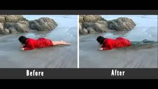 Mermaid 3D effect shooting