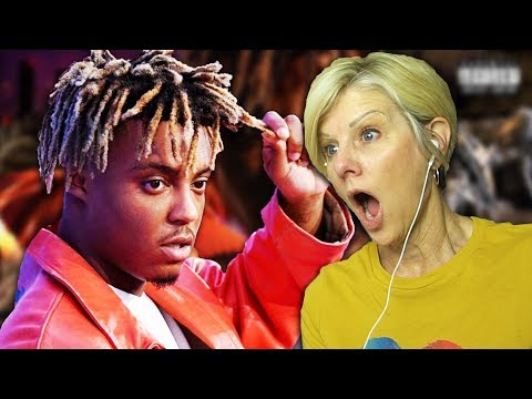 Mom REACTS to Juice WRLD - Hear Me Calling & Fast