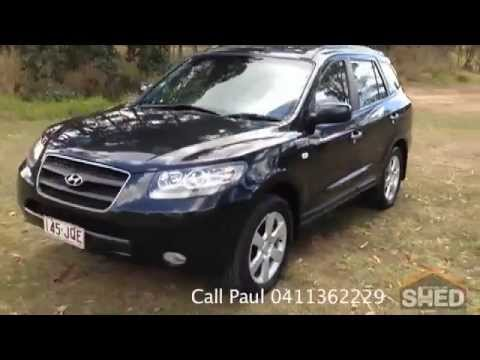 2006 hyundai santa fe elite wagon black auto brisbane 1546. Black Bedroom Furniture Sets. Home Design Ideas