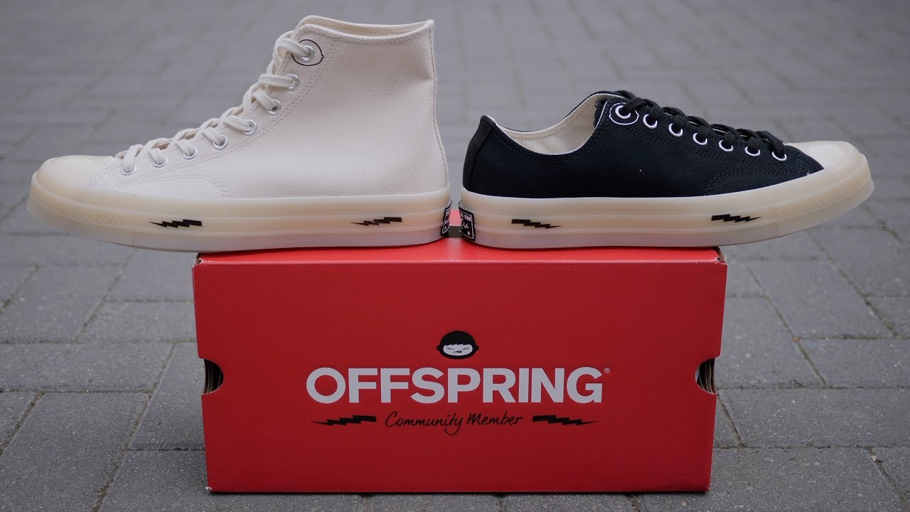 Which Is Better? Converse x Offspring