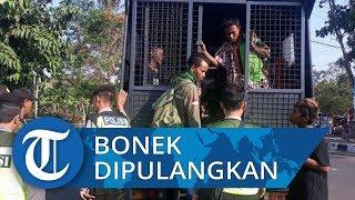 Puluhan Bonek Dipulangkan Paksa dari Stadion Moch Soebroto Magelang