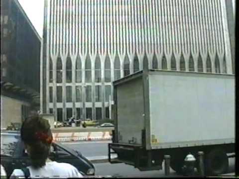 Original World Trade Center WTC in New York; Memory 9/11; 世界貿易中心