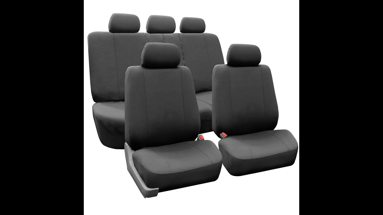 Flat Cloth Multifunctional Seat Covers Full Set FH Group Auto R