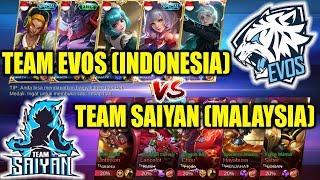 Video WOW SERU !!! Team EVOS (INDONESIA) VS Team SAIYAN (MALAYSIA) Mobile Legends download MP3, 3GP, MP4, WEBM, AVI, FLV September 2018