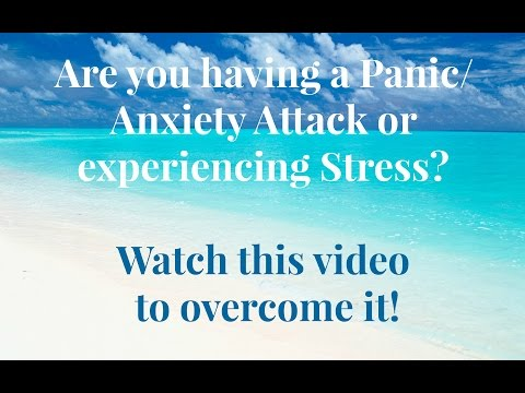 Are you having a panic/anxiety attack❓Stop it with 👉 Guided Relaxation streaming vf