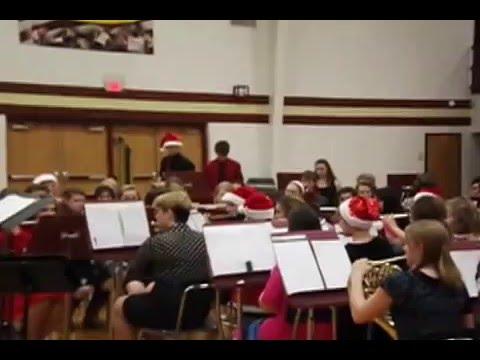 Eldon High School band Christmas concert - Dec. 15, 2015