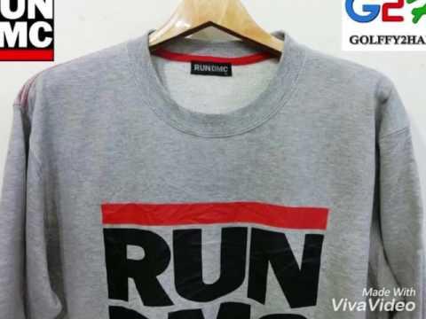 RUN DMC เสื้อยืดกันหนาวแขนยาวสุดเท่ห์ By Golffy2Hand