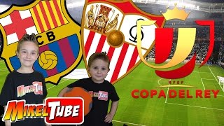 Video Predicción BARÇA vs SEVILLA Copa del Rey con cromos de fútbol Adrenalyn XL download MP3, 3GP, MP4, WEBM, AVI, FLV September 2017