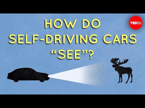 "Video image: How do self-driving cars ""see""? - Sajan Saini"