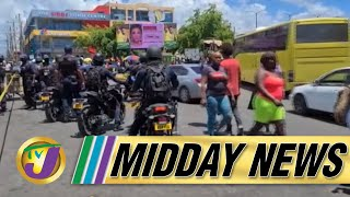 Chaos in Downtown Kingston Jamaica, 5 Dead   TVJ Midday News