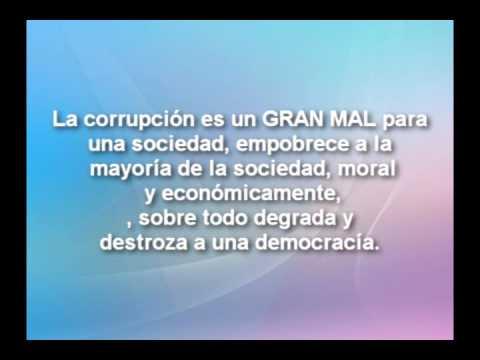 Reflexiones políticas Corrupción - YouTube