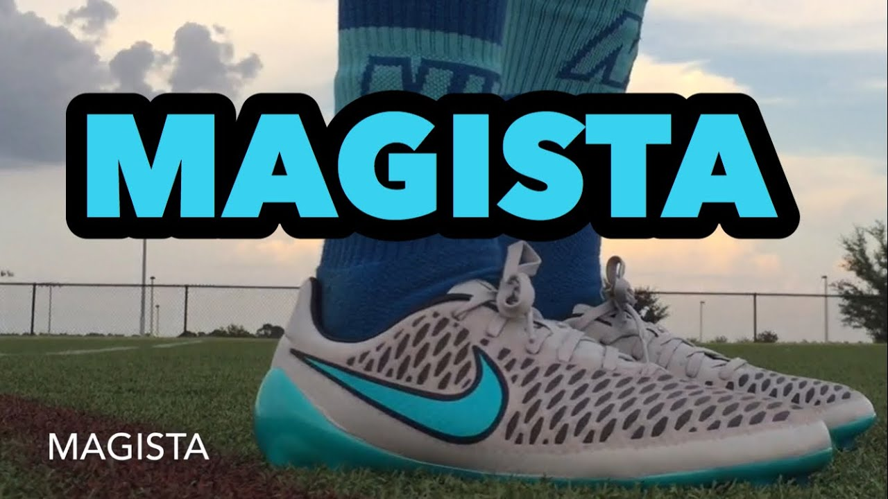 Nike Magista Opus Silver Storm - YouTube