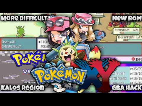 Pokemon X And Y GBA ROM With Kalos Region And More
