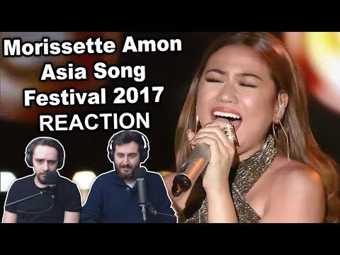 """""""Morissette Amon - Asia Song Festival 2017"""" Reaction"""