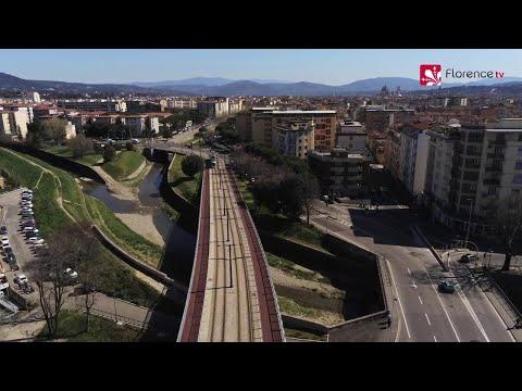 Coronavirus, Firenze deserta vista dal drone