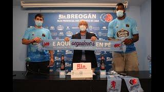 Video Seydou Aboubacar e Erik Quintela, gladiadores con sangue celeste para o Leite Río Breogán