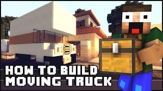 Minecraft Vehicle Tutorial - Moving Truck