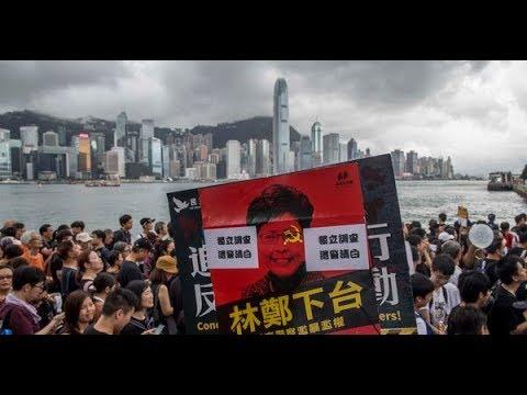 《石涛聚焦》「23万港人挤爆九龙 - 7.7大游行告诉中共国人 香港真相」Be Water - 人潮汹涌 已成为香港反送中游行的核心词汇『一齐去 一齐返』占据整个广东街 惊呆大陆客——现场纪实