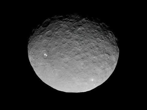 NASAs Dawn Probe Captures Bright Craters In Closeup With Dwarf Planet Ceres