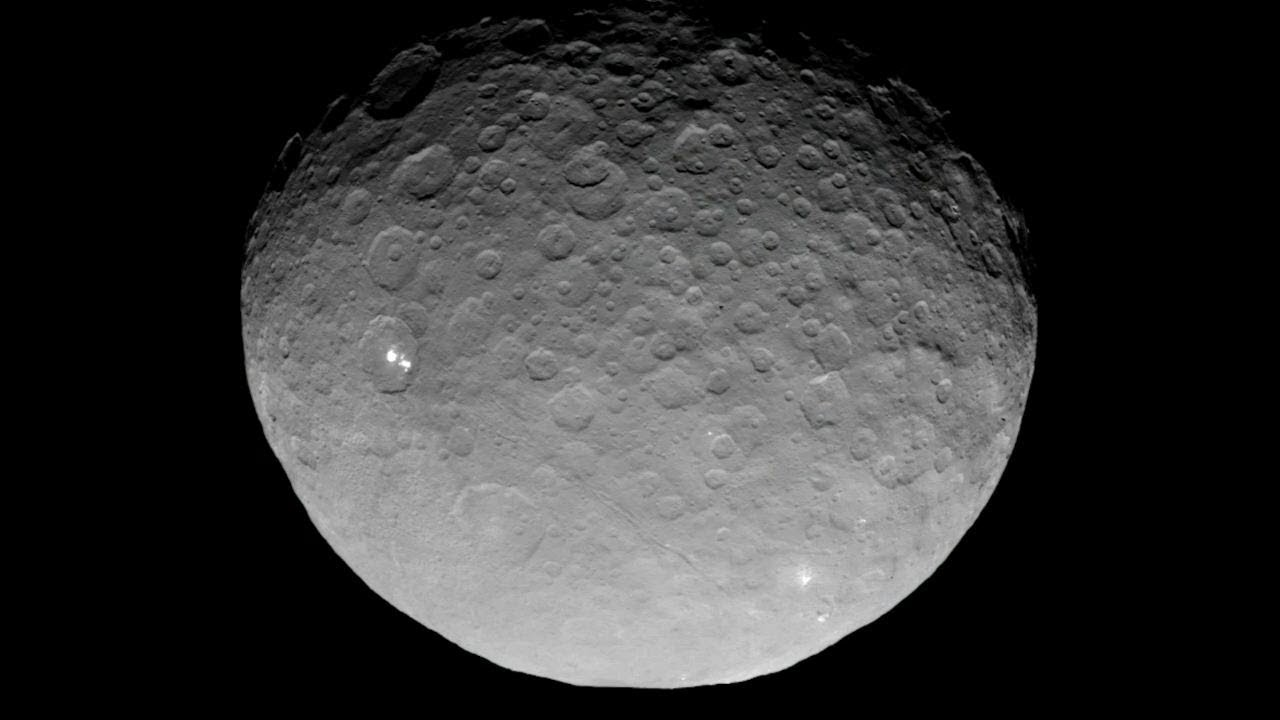 new findings from nasa s dawn mission at dwarf planet ceres youtube