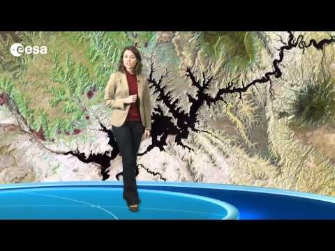 Earth from Space: Canyon country