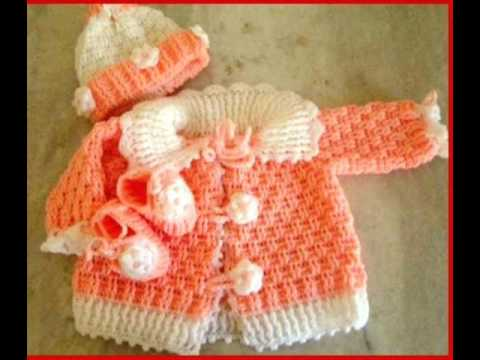 Cotton Hand Knitted Baby Sweater Cardigan Vest Made Youtube