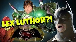 Jesse Eisenberg is Lex Luthor?!