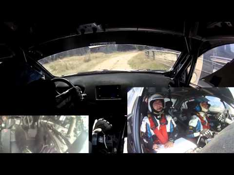 Vali Porcisteanu - Sibiu Rally ERC 2013 - Ps Crinti 1 - onboard