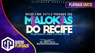 Baixar BASE BREGA FUNK USO LIVRE (PASSINHO DOS MALOKAS) #13