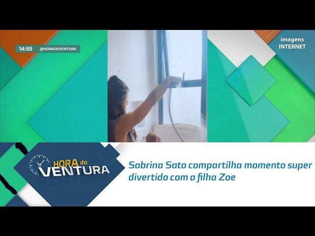 Sabrina Sato compartilha momento super divertido com a filha Zoe -   Bloco 02