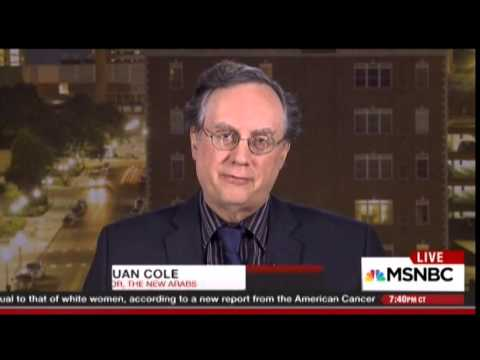 Juan Cole with Chris Hayes on deployment of US Special Forces in Syria