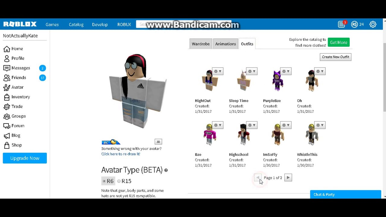 Roblox Names: Cute Roblox Girl Outfit Ideas 2017