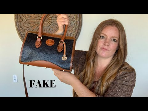 I Bought A Fake Vintage Dooney & Bourke Bag - Accidental Reseller Purchase