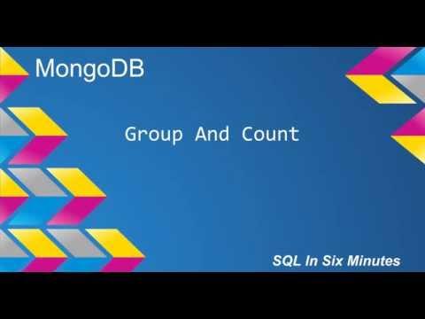 MongoDB: Group and Count