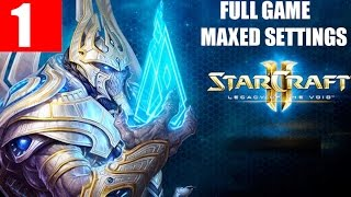 StarCraft 2 Legacy of the Void Walkthrough Part 1 Full Campaign HD Ultra Gameplay - Intro Recap