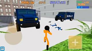 Stickman Prison: Counter Assault & Stickman Counter Terror Strike Android Gameplay HD