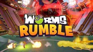 Worms Rumble - Release Date & Open Beta Trailer!