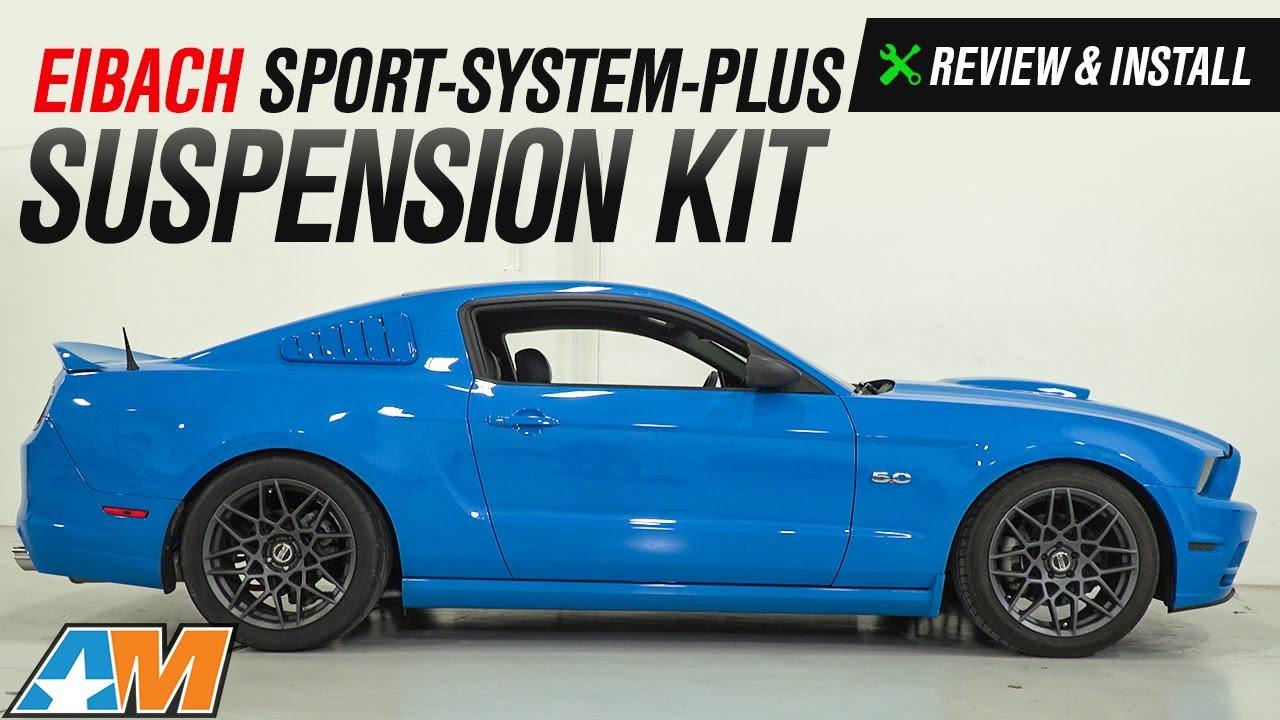 2011 2014 Mustang Gt V6 Eibach Sport System Plus Suspension Kit