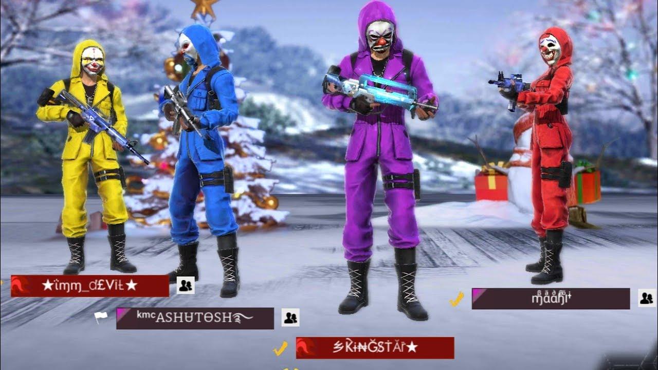 Lets Complete Our Criminal Squad Spin For Criminal Suit Free Fire Battleground