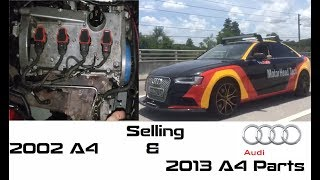 Audi PARTOUT & Audi sent me a letter! Buy both of my A4's B6, B8 & B8.5 parts!