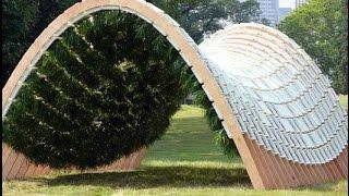 Gartenhaus selber bauen. Kreative Gartenhaus  Ideen.