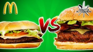 McDONALDS ANGUS BURGER vs HOMEMADE - Fast Food Beef EXPOSED!