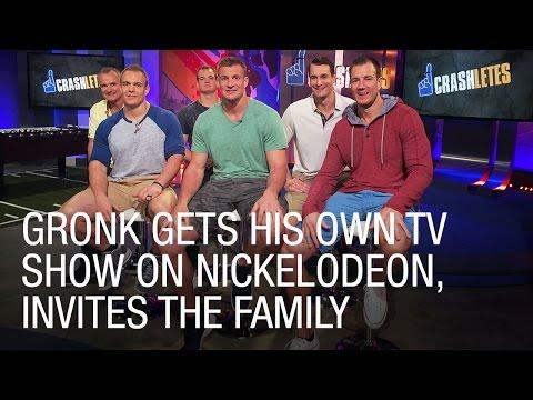 Rob Gronkowski Gets His Own Nickelodeon TV Show, 'Crashletes'