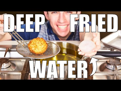 Deep Frying Water (DON'T TRY THIS AT HOME!) | Eitan Bernath