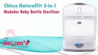 Chicco NaturalFit 3-in-1 Modular Baby Bottle Sterilizer