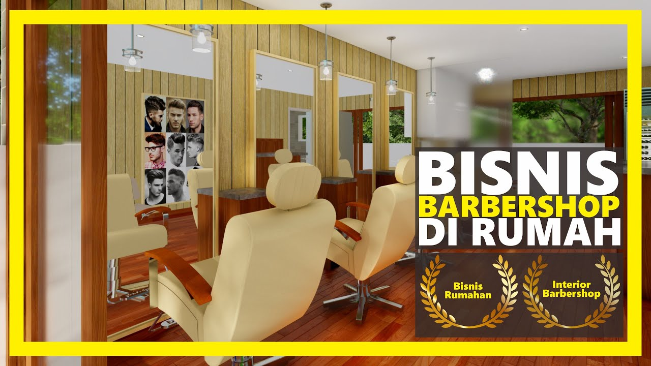 Desain Barbershop Minimalis Money Generating Room Barbershop