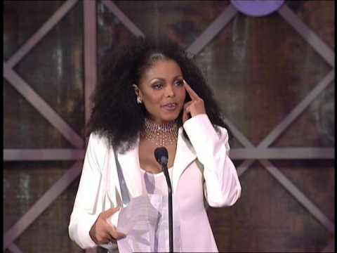 Janet Jackson Wins Merit Award - AMA 2001