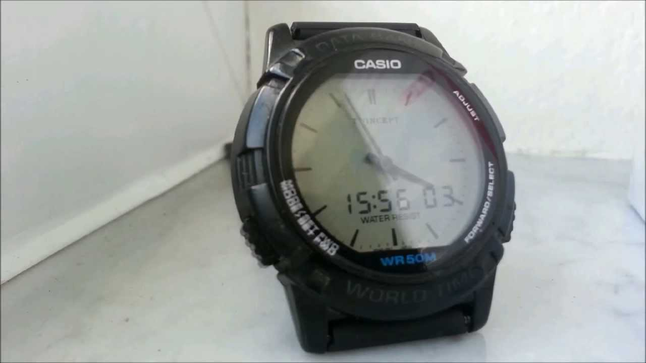 eb97cb2a22d9 Casio ABX-20   timelapse   - YouTube